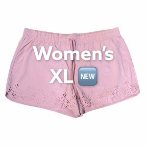 Reebok XL Shorts Rose Pink Athletic Active NWOT